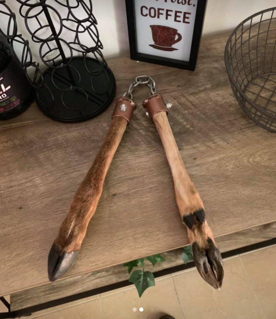 Deer Leg Nunchucks