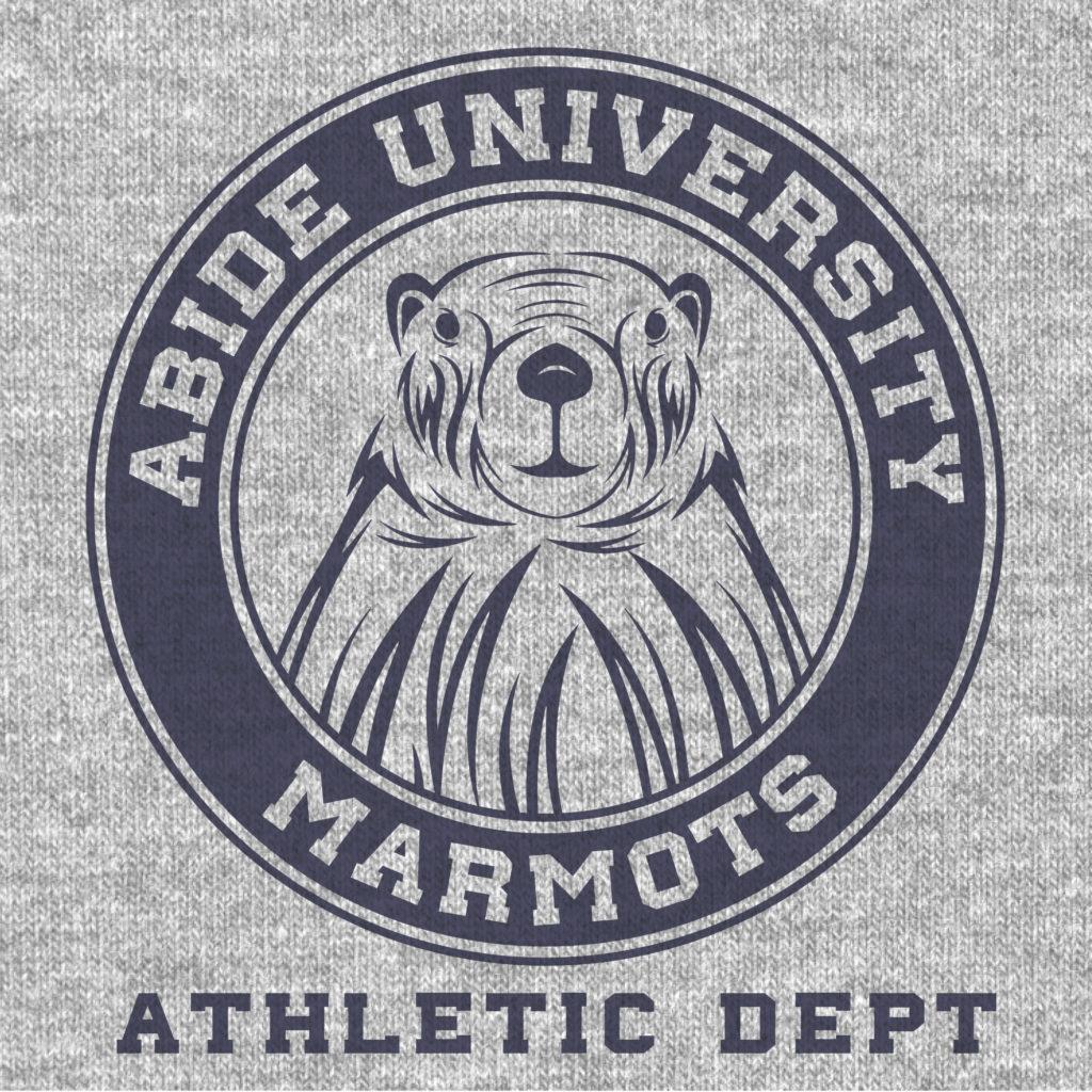 Abide University Marmot Mascot